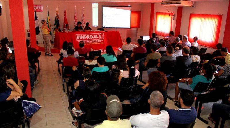 SINPROJA realiza Assembleia para aprovação do Regimento das Eleições de 2019
