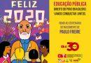 Feliz 2020 rumo ao centenário de nascimento do Paulo Freire