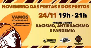 24/11 – Roda de Conversa Sobre Racismo, Antirracismo e Pandemia