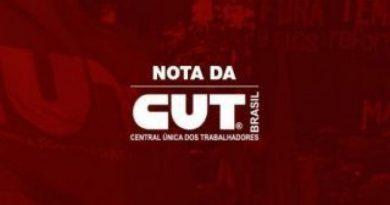 CUT apoia educadores do Paraná e repudia governo do Ratinho Jr.