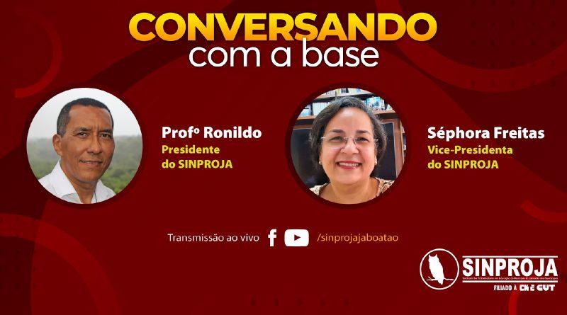 🎬 | Conversando com a Base – 21/07/2021